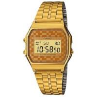 ساعة كاسيو للنساء شاشة رقمية سوار ستانلس ستيل - A159WG-9