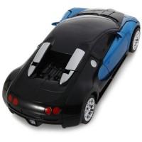 لعبة اطفال نموذج ار سي لسيارة تتحول اليا الى رجل الي 2.4 غم تصدر صوت وضوء - لون اصفر TT663