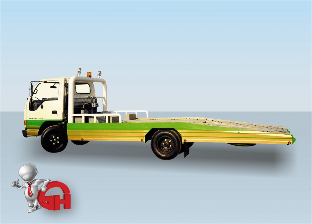 سطحة نقل سياراتمتعطلة  Recovery truck